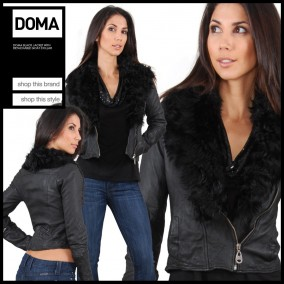 Doma_Black_Jacket_with_Detachable_Goat_Collar