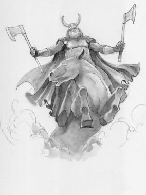 Pencil Illustration by Jay Arcilla