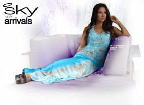 Sky-Caribbean-Marga-Long-Dress-L651GDCRB